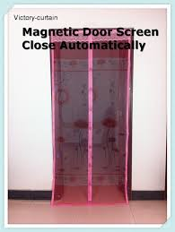 magnetic door mosquito net bug off screen doors strong magnets close automatically