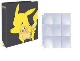 Amazon.com: Ultra Pro Pokemon 2019 Pikachu 3-Ring Binder with 25 Platinum  9-Pocket Pages: Toys & Games