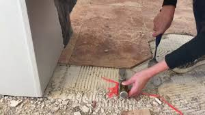 how to remove tile mortar and lathe