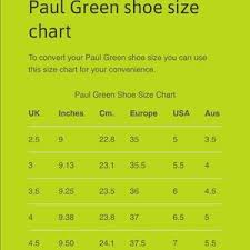 Paul Green Shoe Size Chart Paul Green Munchen Euro Driving Shoe Size 7
