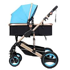 ZLMI Pushchairs,<b>High Landscape Stroller Can</b> Sit And Fold Two ...
