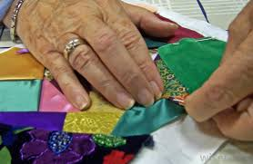 What are Fabric Remnants? (with pictures) & Fabric remnants may be used to make a crazy quilt. Adamdwight.com