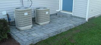Models Patio Stones Lowes A Cobble Overlay With Over Old In Ideas