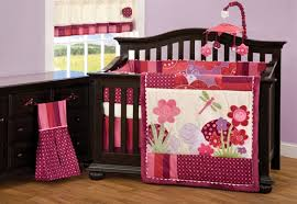 back to baby crib bedding sets for girls
