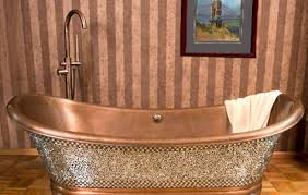 copper freestanding tub. 3. copper freestanding tub