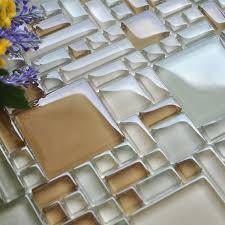 mosaic tile crystal glass backsplash kitchen countertop design shower bathroom wall floor tiles