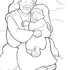 Baby Coloring Pictures Baby In Stable Coloring Pages A Manger