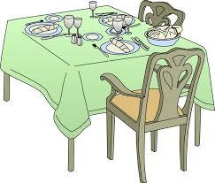 dinner table clipart. Unique Clipart Throughout Dinner Table Clipart D
