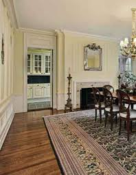 dining room with an area rug
