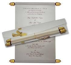 scroll wedding invitations with regard to ucwords