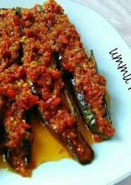 Resep sambal terong balado sederhana bahan: Terong Balado Terasi Indonesian Food Diy Food Recipes Malaysian Cuisine