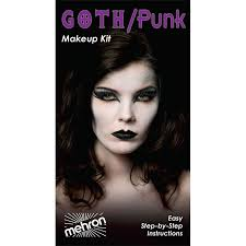 mehron goth punk premium makeup kit