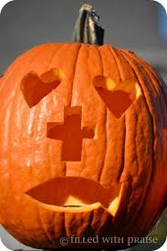 Christian Pumpkin Designs The Pumpkin Carving Prayer When My Daughter Was Little We