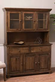 sideboard cabinets furniture farmhouse buffet and hutch in dark walnut stain 54 wide 18 deep unfinished