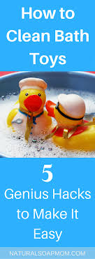 pin it on natural soap mom how to clean bath toys