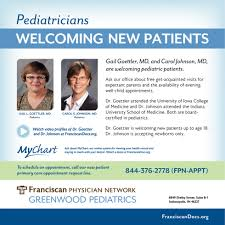 Welcoming New Patients Franciscan Physician Network