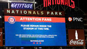 Padres-Nationals game suspended after ...