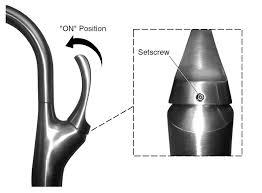 tighten the handle