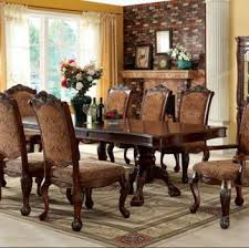Furniture of America Napa Valley Dining Set Collection Dark Cherry