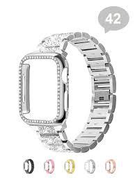 Комплект: ремешок для смарт часов Apple Watch 42/44 + <b>чехол</b> ...