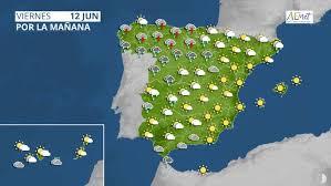 Previsión del tiempo para hoy, mañana y los próximos días. Este Es El Tiempo Para Hoy Viernes Y Este Fin De Semana En Espana