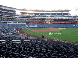 Nationals Ballena Seating Chart Nationals Park Section 136 Seat Views Seatgeek