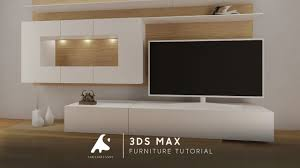 3d Max Furniture Design 3d Max Modeling Tutorial Furniture Tv Vray Photoshop Light