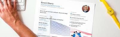 Obama Resume What A President's Resume Looks Like Enhancv 21