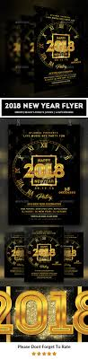 2018 New Year Flyer Template By Afjamaal | Graphicriver