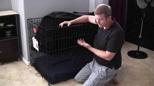 life stages dog crate cover review and demonstration you