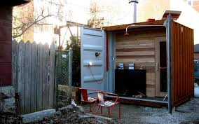 container sauna box 800x500 - Sauna Box: shipping container for sweaty  sessions