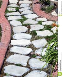 garden paths and stepping stones. boarder brick cement garden path stepping stone paths and stones