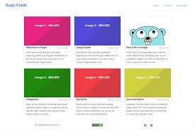 Hugo Cards Hugo Themes