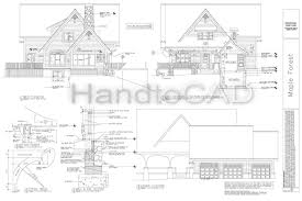 autocad home plans drawings free luxury house plan autocad drawing free plans files design