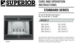 superior fireplace insert propane inserts br 36 2 dealers