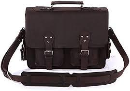 GLJJQMY <b>Retro</b> First Layer <b>Crazy</b> Horse <b>Leather Men's Briefcase</b> ...