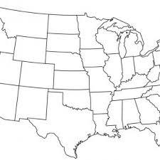 Printable Blank Us Map Free Printable Fillable Us Map Usa20 New