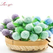 stamen flowers <b>10PCS</b> Lot Mini Artificial Berry Foam Stamen Flower