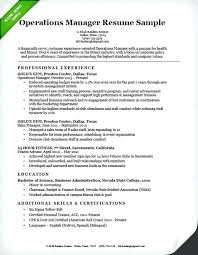 Fitness Resume Objective Best of Gym Manager Resume Sample Manager Resume Best Of Operations Manager