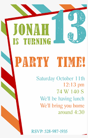 Boys Birthday Party Invitations Templates Free Printable Birthday Party Invitation Templates Teen