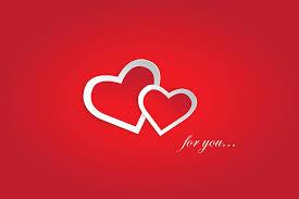 love you red valentine love background design