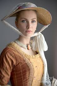 portrait of a w in th century n dress and hat   n photograph portrait of a w in 18th century n dress and hat by lee