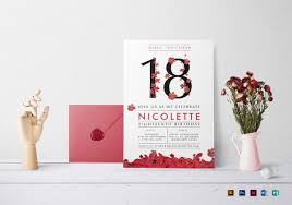 design templates for invitations 27 debut invitation templates psd ai vector eps free