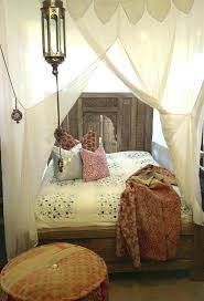 Moroccan Bed Frame Bed Bedroom Decorating Ideas Bright Wall Color ...