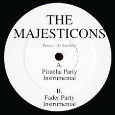 <b>Piranha Party</b> / The Majesticons / Release / Ninja Tune