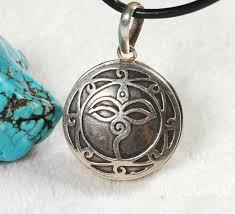 handmade buddha eye gau box tibetan prayer box pendant