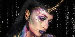 these extremely extra unicorn makeup looks are not your average costumes