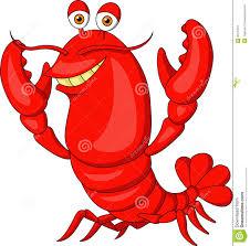 Cute Lobster Cartoon Illustration ...