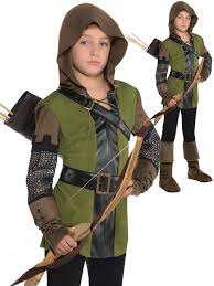 details about childs robin hood costume boys prince of thieves fancy dress kids book week