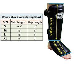 Baseball Shin Guard Size Chart Windy Shin Pads Lpl